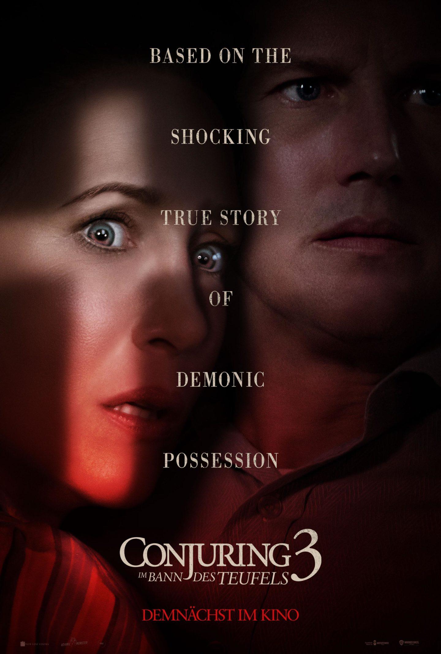 Conjuring 3 – Im Bann des Teufels – Deutsches Kinoposter
