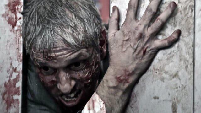 """Einen Zombie-Ausbruch im Aufzug überleben, im offiziellen """"The End?"""" Trailer"""