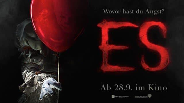"""Zwei neue Teaser Trailer zum deutschen Kinostart von Stephen King's """"Es"""""""