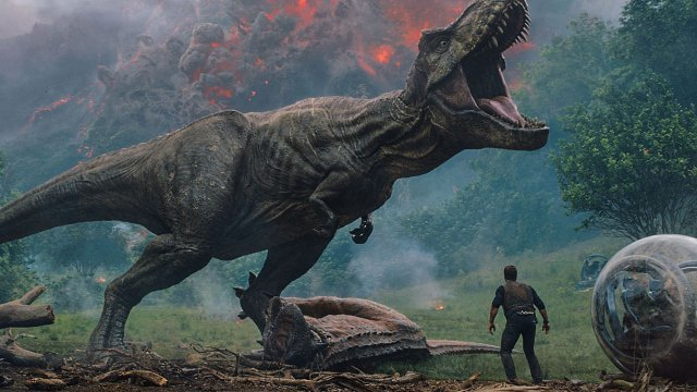 """Das """"Gefallene Königreich"""" im deutschen Trailer zu """"Jurassic World 2"""""""