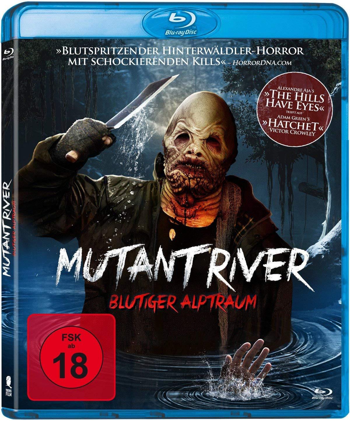 """Handgemachter Splatter: Horrorfilm """"Mutant River"""" erhält DVD und Blu-ray Starttermin"""