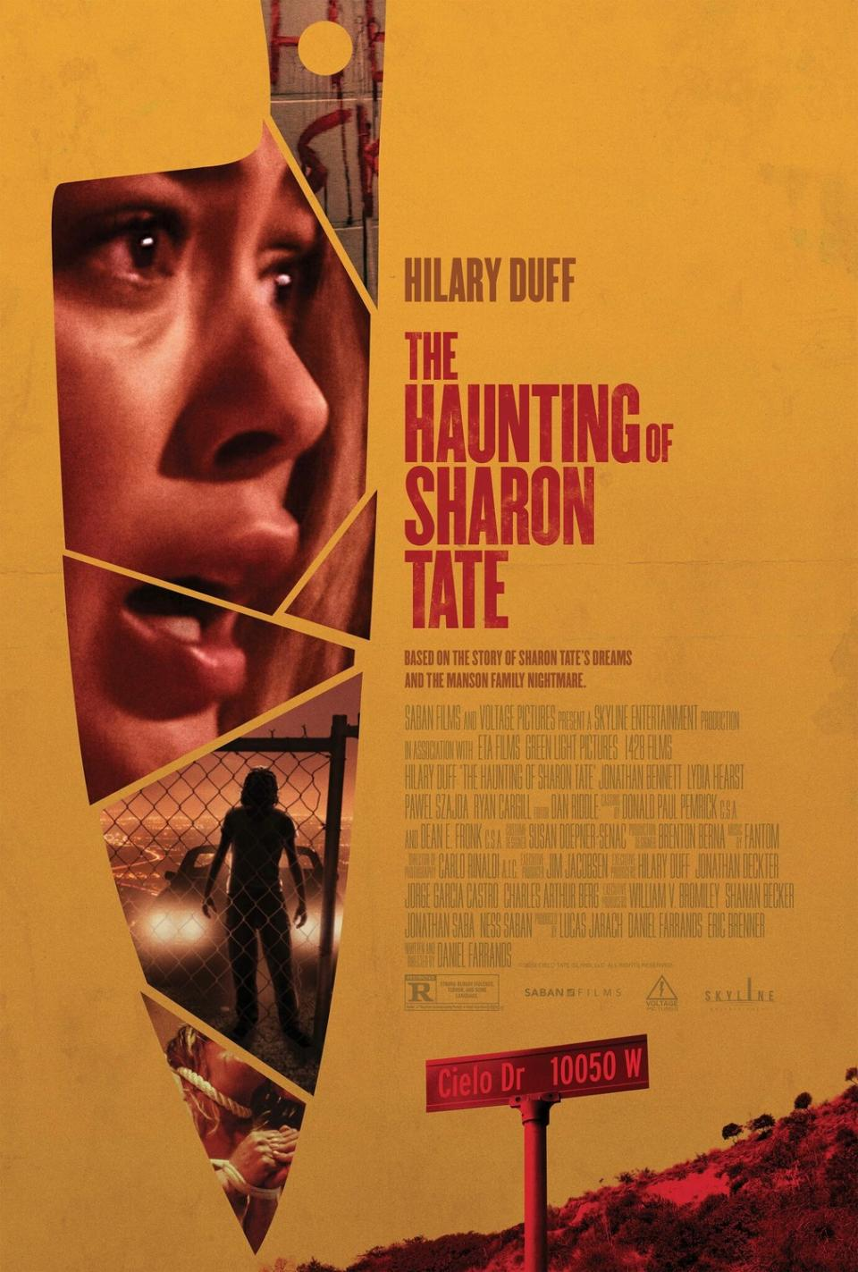 "Offizielles Filmposter zu ""The Haunting of Sharon Tate"""