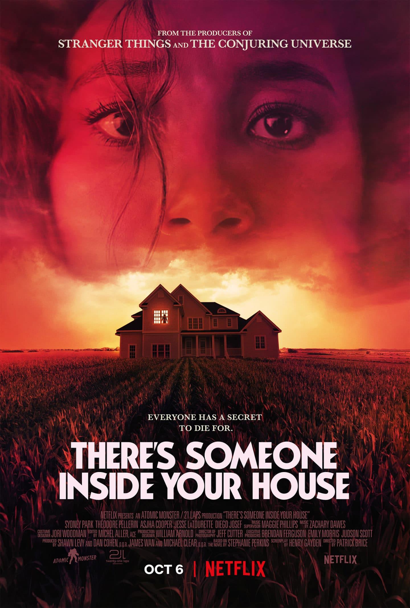 Jemand ist in deinem Haus – Teaser Poster