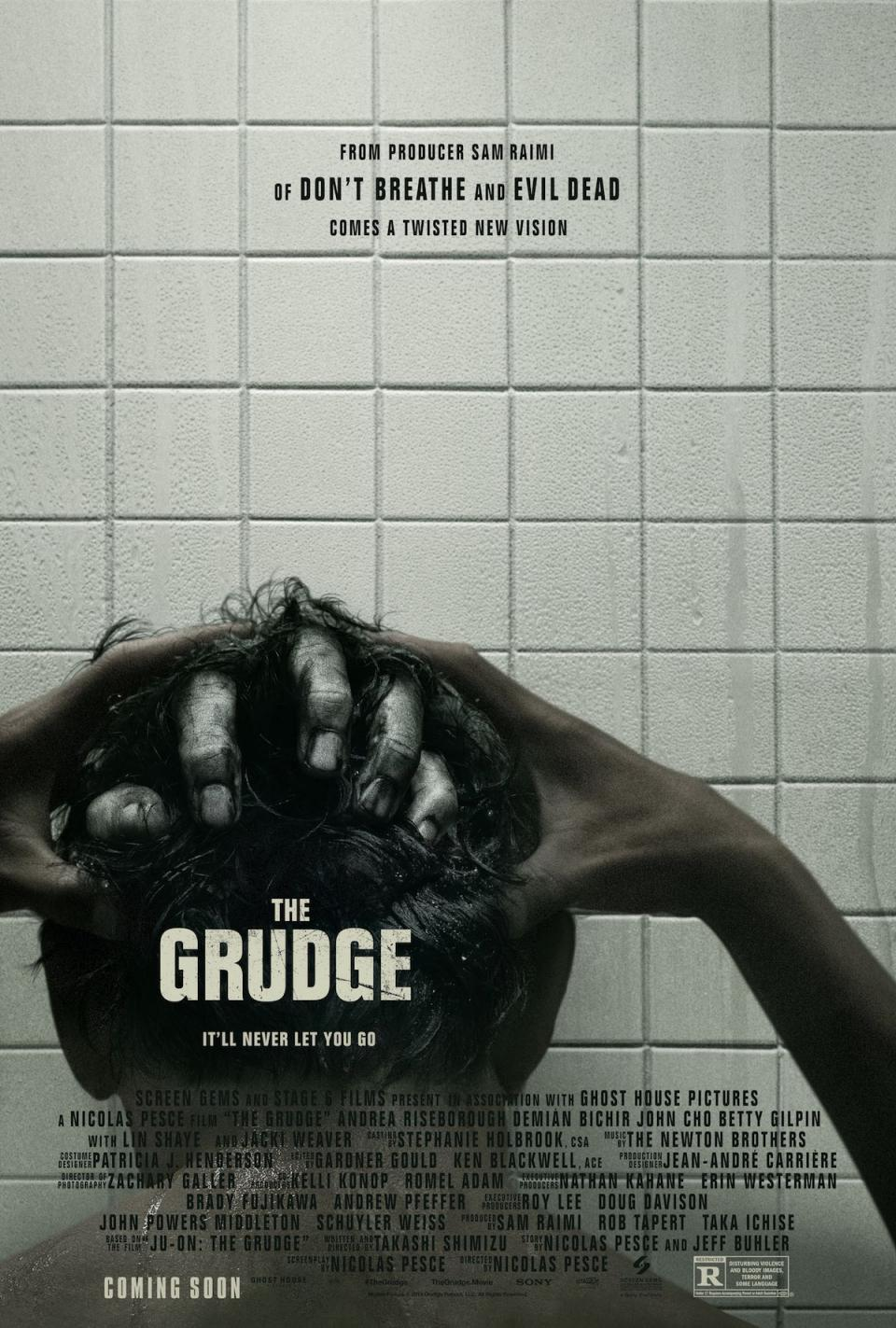 "Haariges Filmposter zum ""The Grudge"" Remake"
