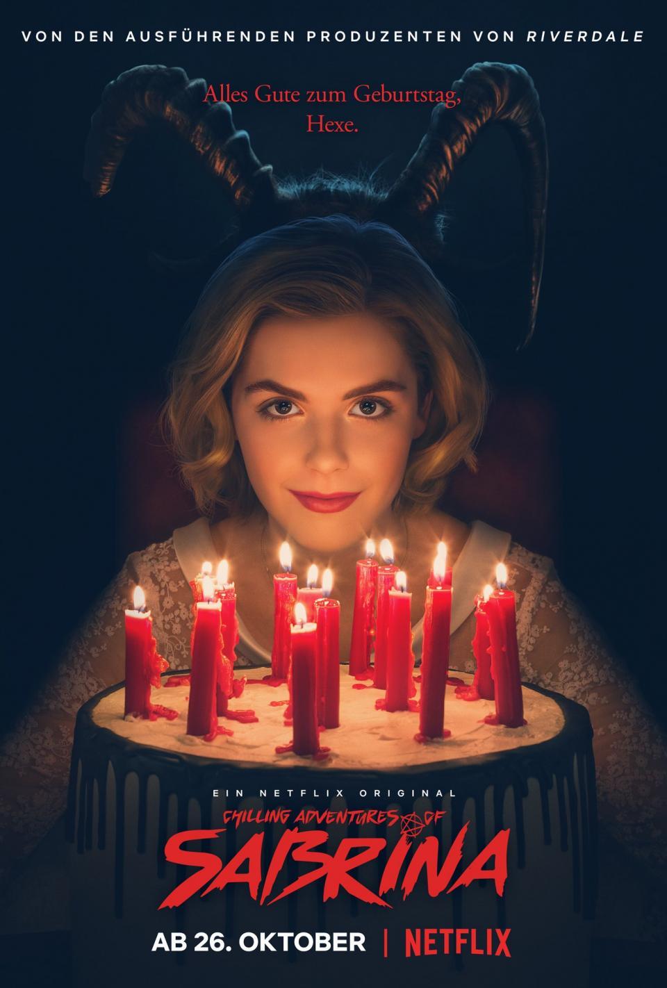 """Netflix hat den ersten """"Chilling Adventures of Sabrina"""" Trailer veröffentlicht"""