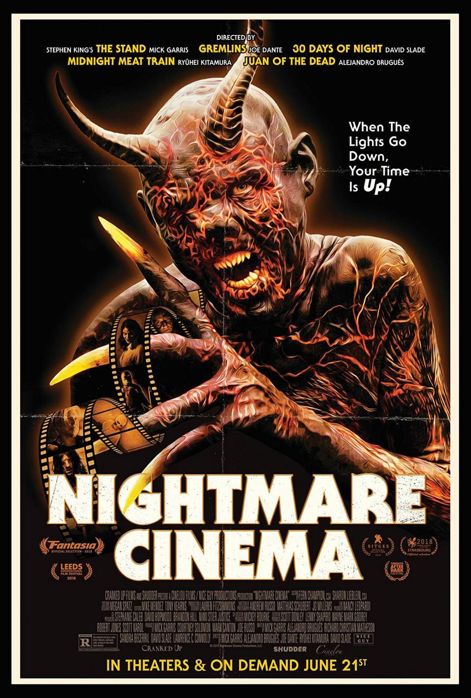 """Zweiter Trailer und Poster zum Episodenfilm """"Nightmare Cinema"""""""