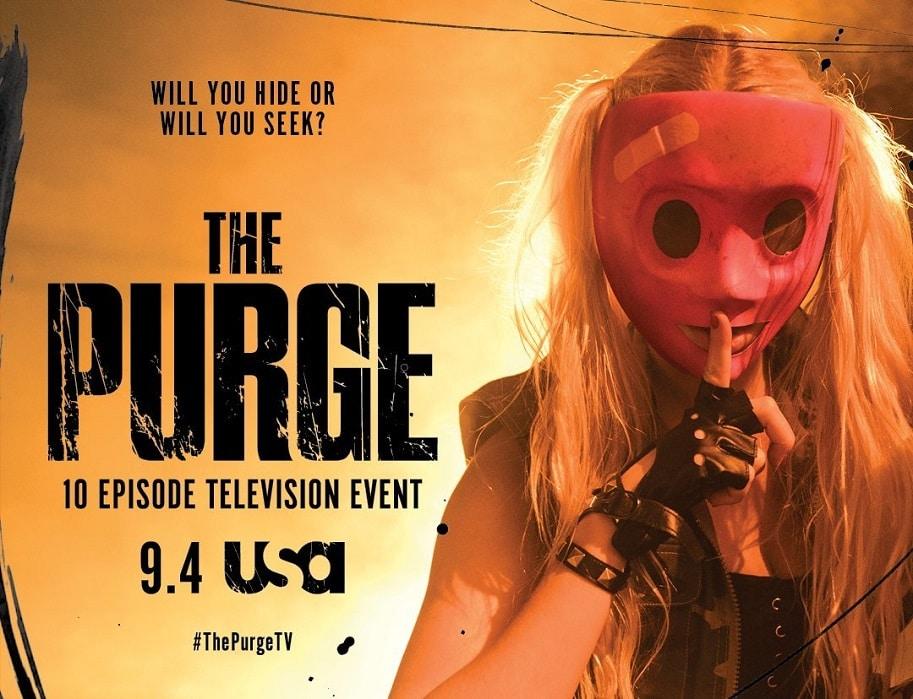 """Sechs abgefahrene Poster zur """"The Purge Serie"""" veröffentlicht"""