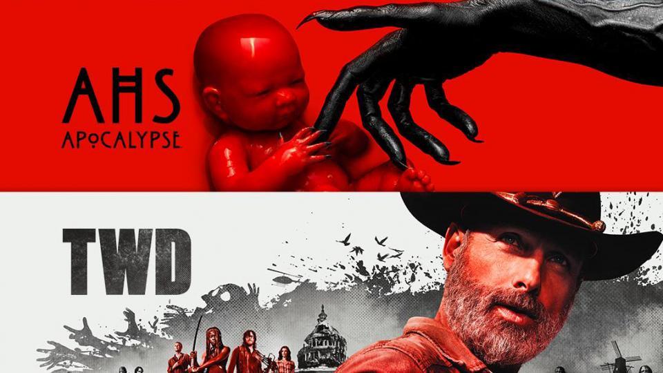 """Starttermine von """"American Horror Story: Apocalypse"""" und """"The Walking Dead: Staffel 9"""" stehen fest"""