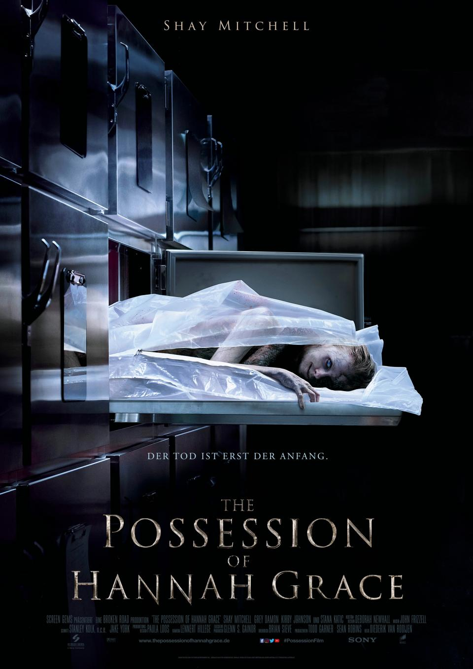 "Sony Pictures bringt ""The Possession of Hannah Grace"" in die deutschen Kinos"