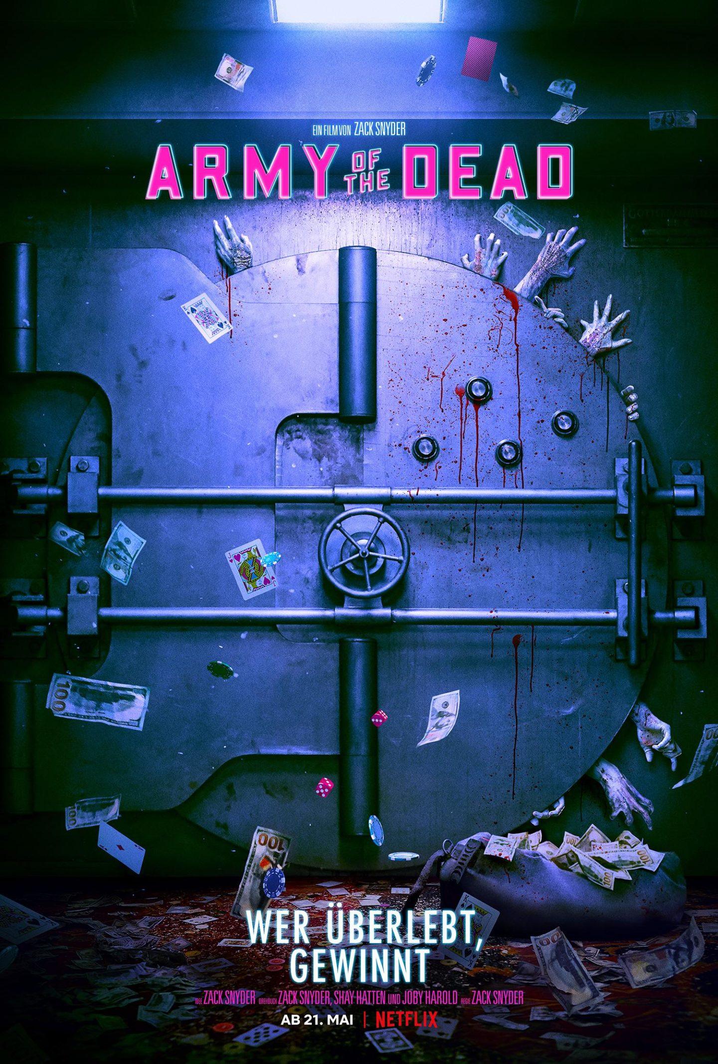 Army of the Dead – Deutsches Netflix Poster