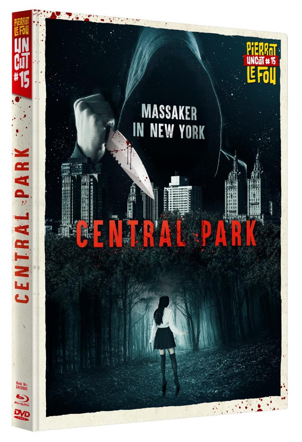 """""""Central Park"""": Pierrot Le Fout kündigt neues Uncut-Mediabook an"""