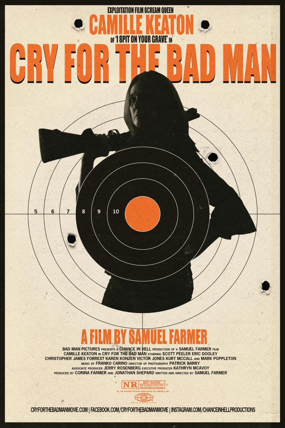 """I Spit on Your Grave""'s Camille Keaton im Trailer zu ""Cry for the Bad Man"""