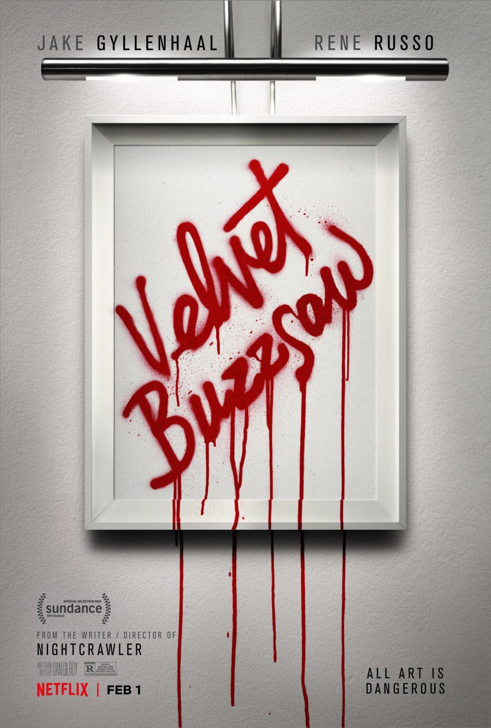 """Filmposter zum Mysteryfilm """"Die Kunst des toten Mannes"""""""