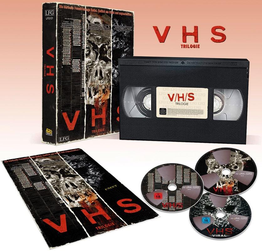 """""""V/H/S"""" Trilogie kommt als limitierte VHS Retro Edition"""