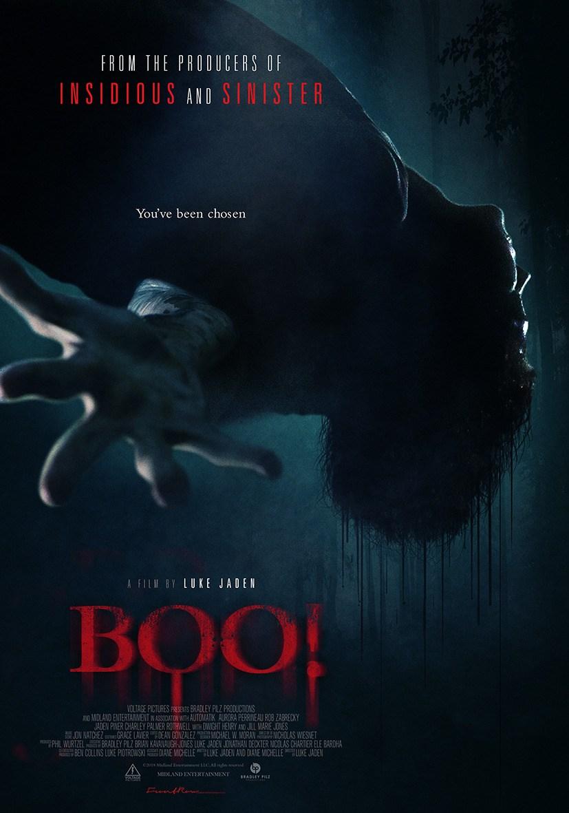 """Trailer und weiteres Filmposter zum Gruselfilm """"BOO!"""""""