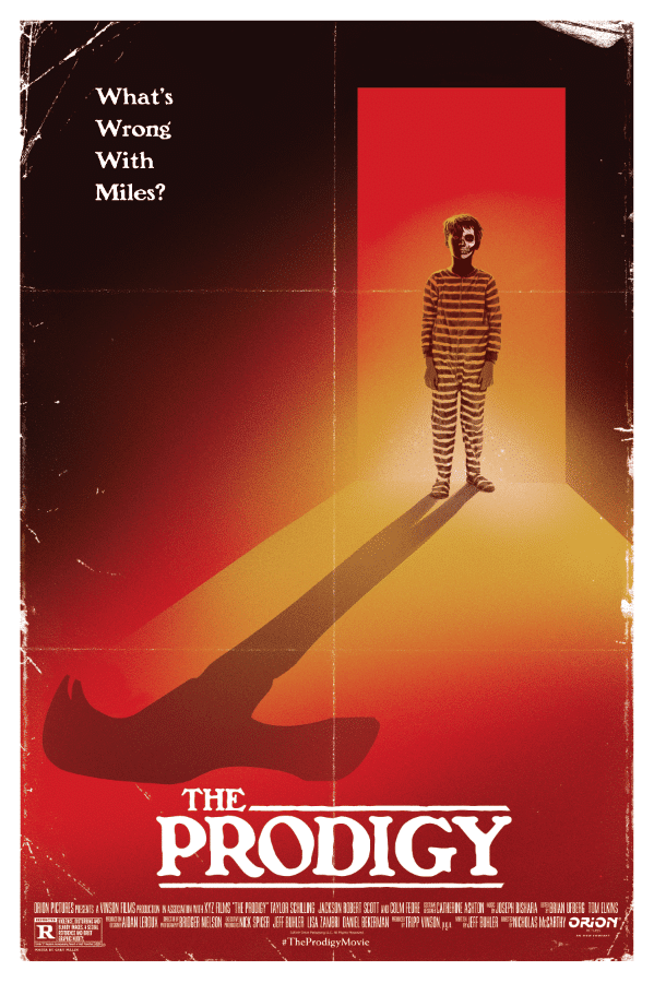 "Cooles Retro-Poster zum Horrorfilm ""The Prodigy"""