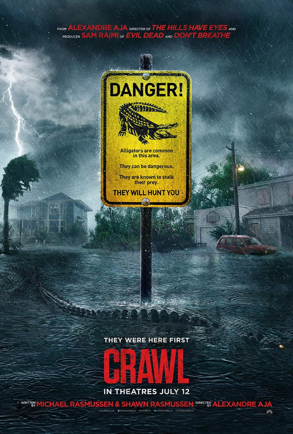 "Deutscher Trailer zu Alexandre Aja's Tier-Horror ""Crawl"""