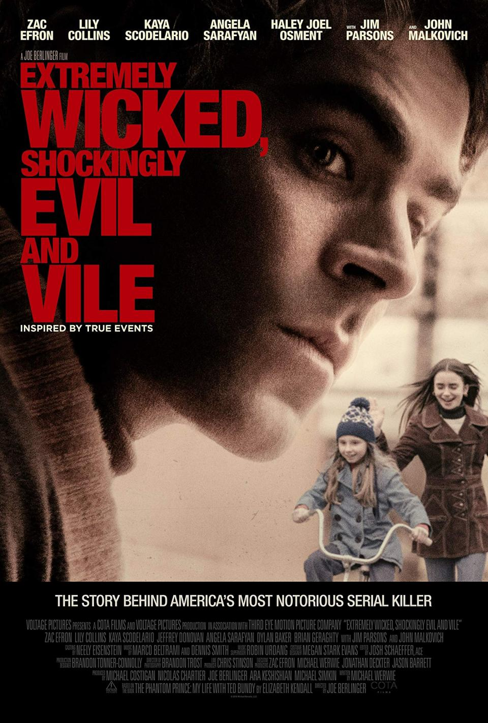 "Trailer zum Netflix-Biopic ""Extremely Wicked, Shockingly Evil, and Vile"""