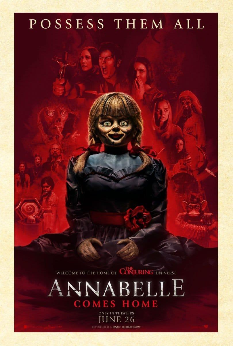 """Neues """"Annabelle 3"""" Poster befreit die Geister der Warrens"""
