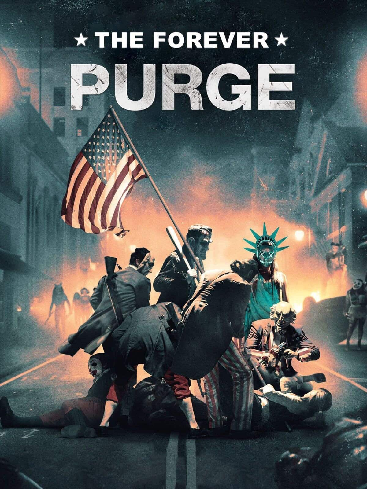 Purge 5 The Forever Purge – Teaser Poster