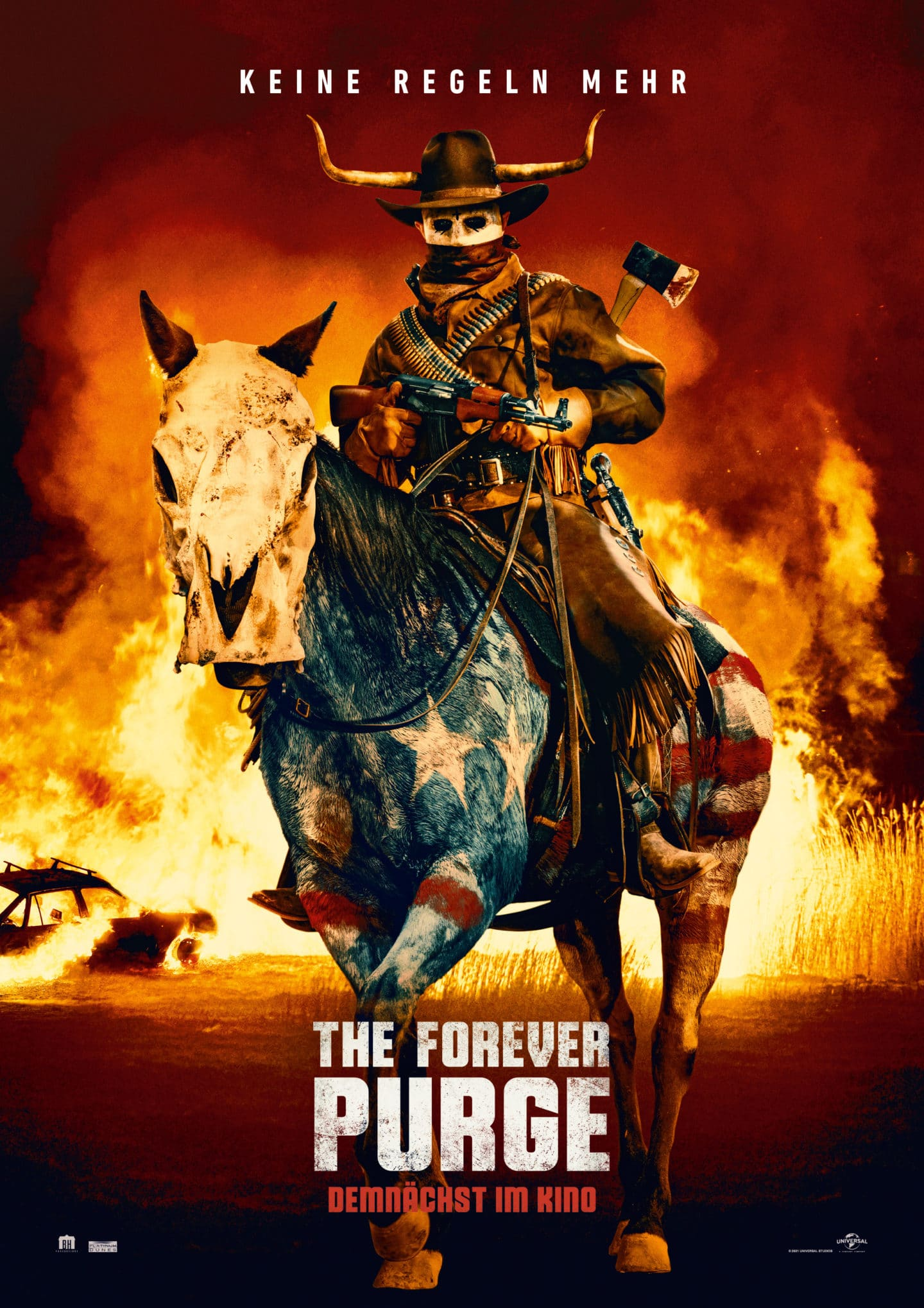 The Forever Purge – Deutsches Poster