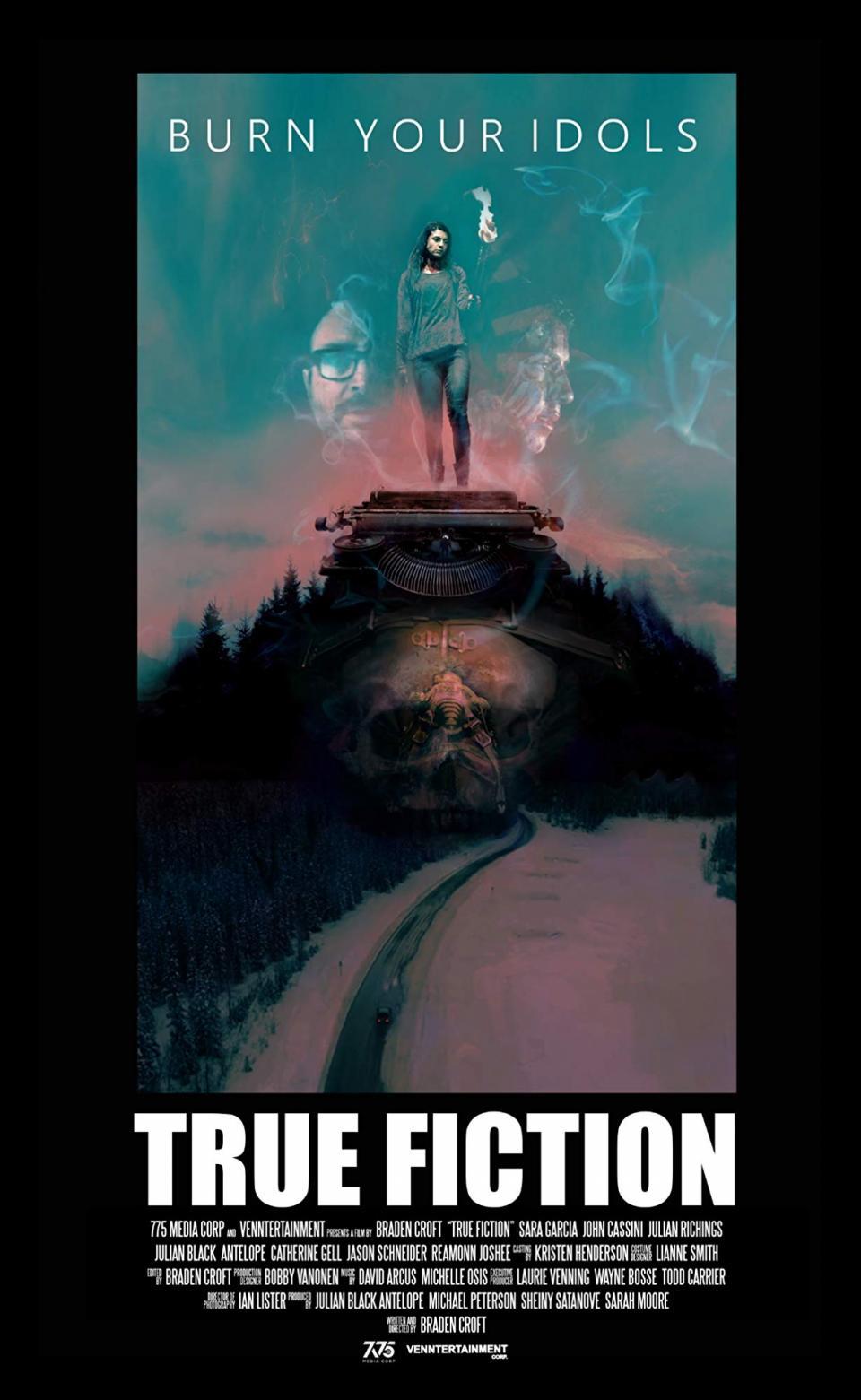 "Knallharter Horror mit Sara Garcia: Seht den Trailer zu ""True Fiction"""