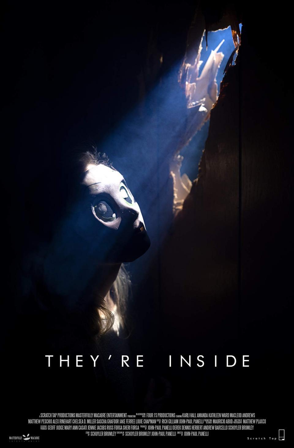 """Ein Filmdreh wird zum Horror-Trip im Trailer zu """"They're Inside"""""""