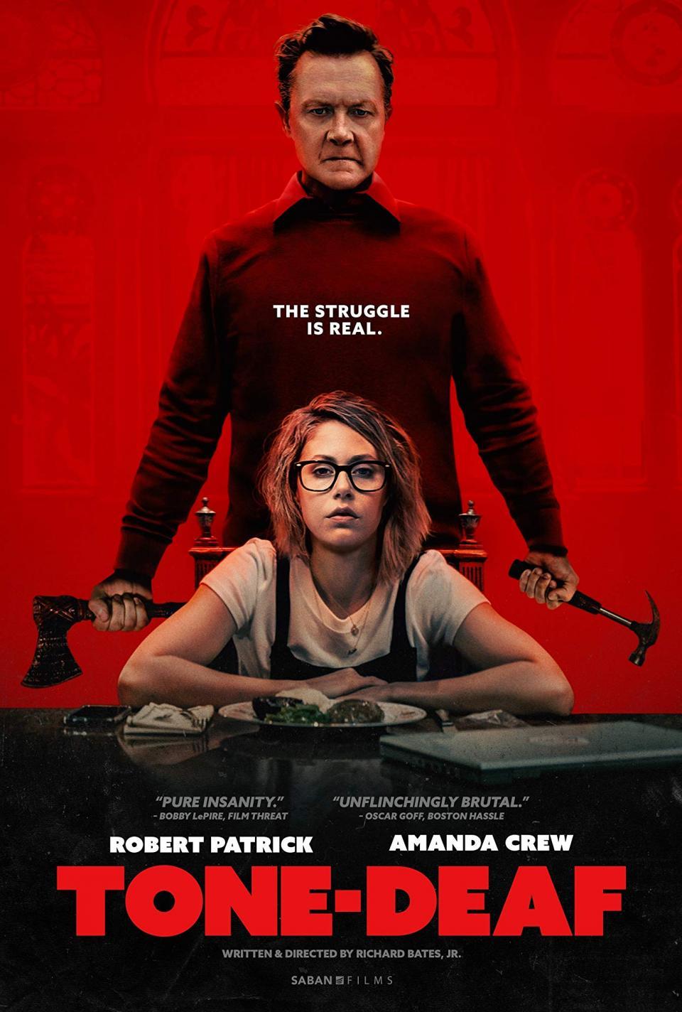 """Robert Patrick als psychopathischer Killer im Trailer zur Horror-Komödie """"Tone-Deaf"""""""