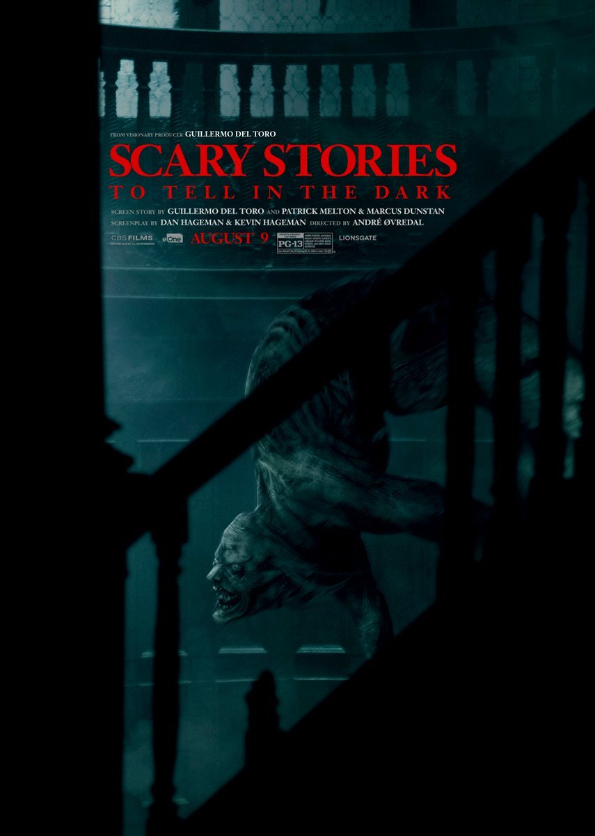"Der Jangly Man erscheint auf einem neuen ""Scary Stories to Tell in the Dark"" Poster"