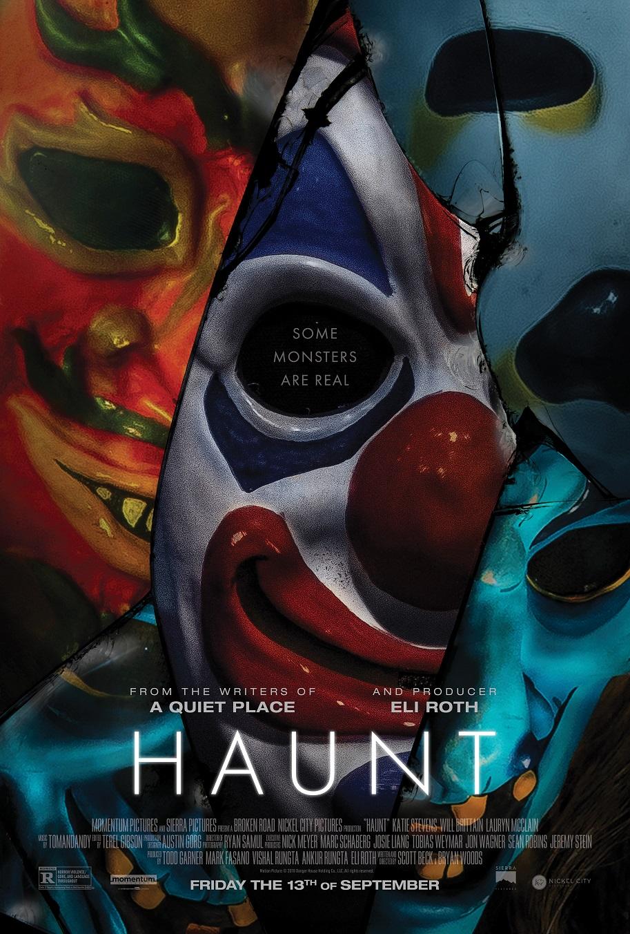 """Halloween Haunt"": Charakter-Poster präsentieren uns die Masken"