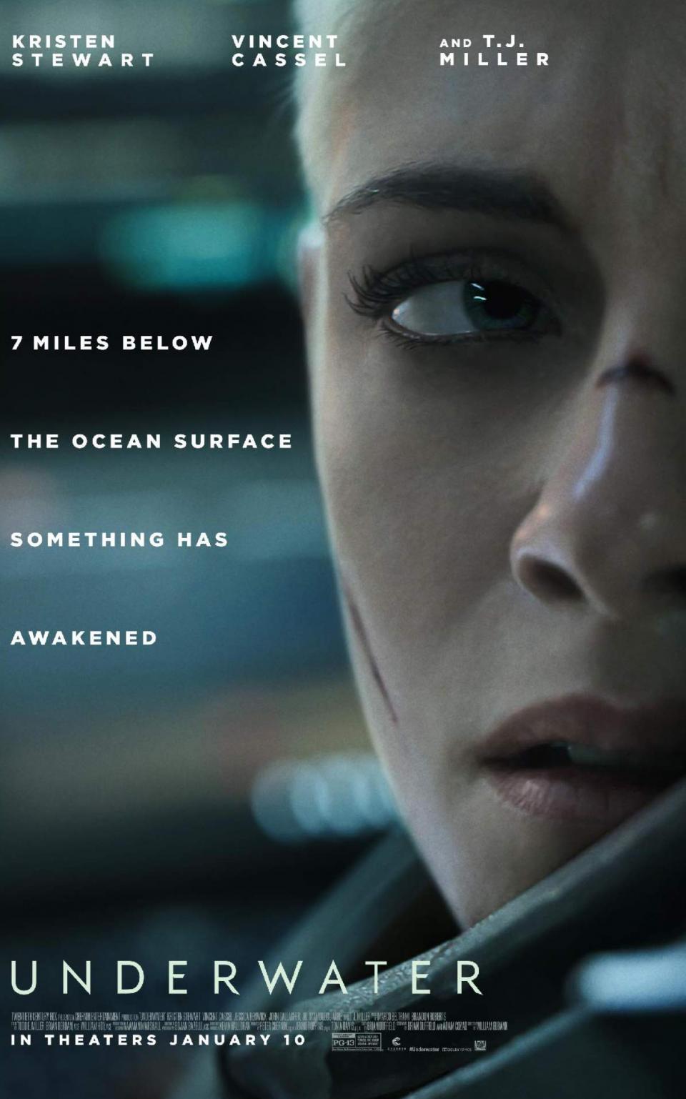 """Im ersten Trailer zu """"Underwater"""" trifft Kristen Stewart auf ein Meeresungeheuer"""