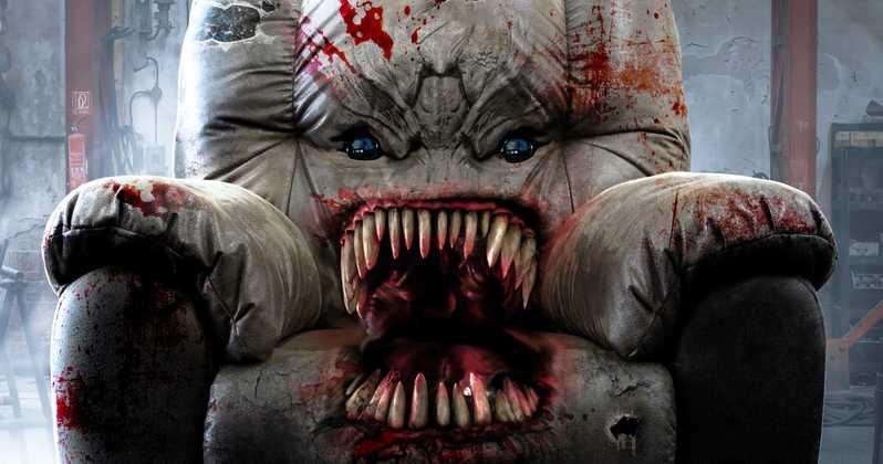 """Grandios gaga: Trailer zu """"Killer Sofa"""" verspricht ein absurdes Blutbad"""