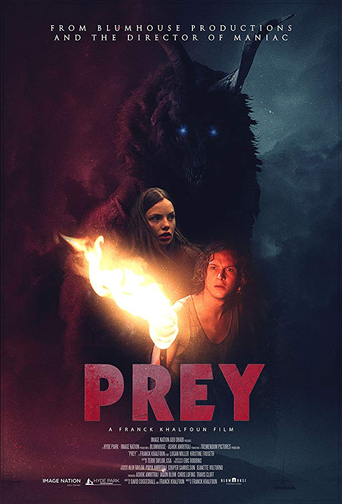 "Trailer zu Jason Blum's spannenden Monsterhorror ""Prey"""