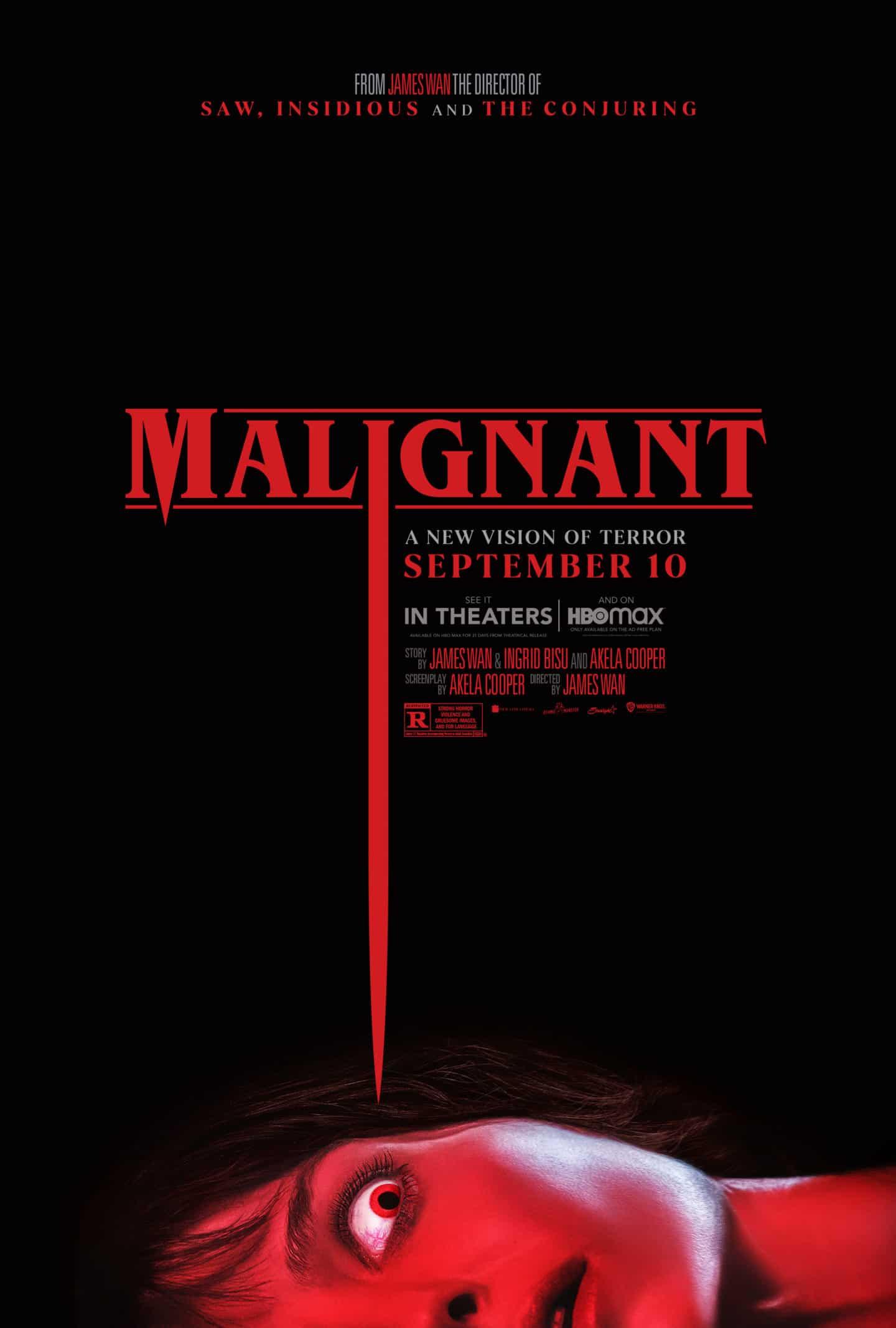 Malignant – Teaser Poster