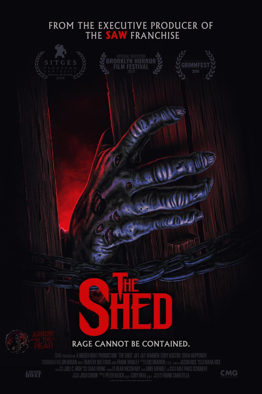"Cooles Retro-Poster zur Horror-Komödie ""The Shed"" enthüllt die Kreatur"