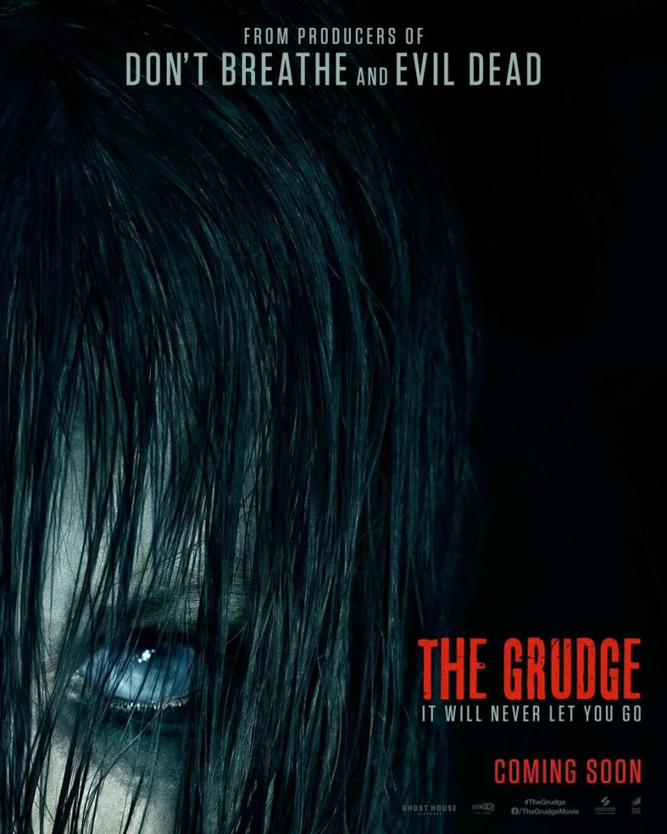 "Gruseliges Filmposter zu ""The Grudge"" enthüllt Kayako Saeki"