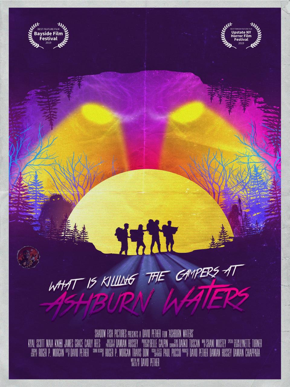 "Voll retro: Neues Poster zum Indie-Horrorfilm ""Ashburn Waters"""