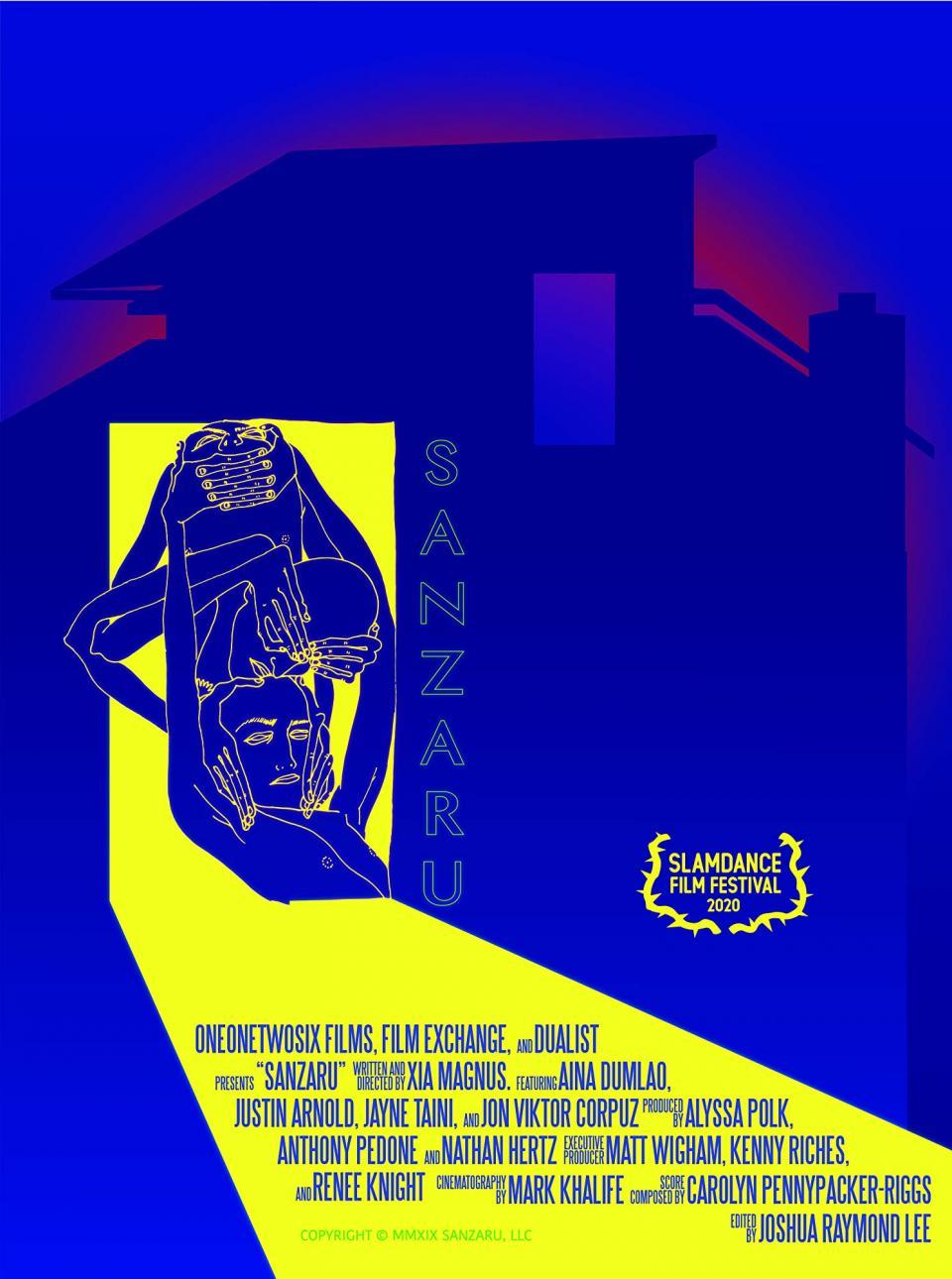"""Intensiver erster Trailer zum Geisterhorror """"Sanzaru"""" mit Jayne Taini"""