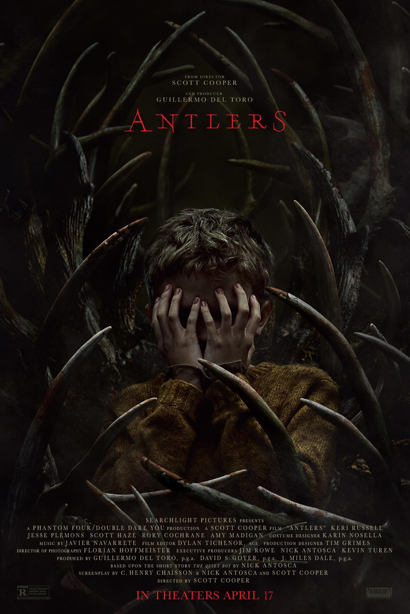 """Beängstigendes Poster zu """"Antlers"""" offenbart etwas grausames"""
