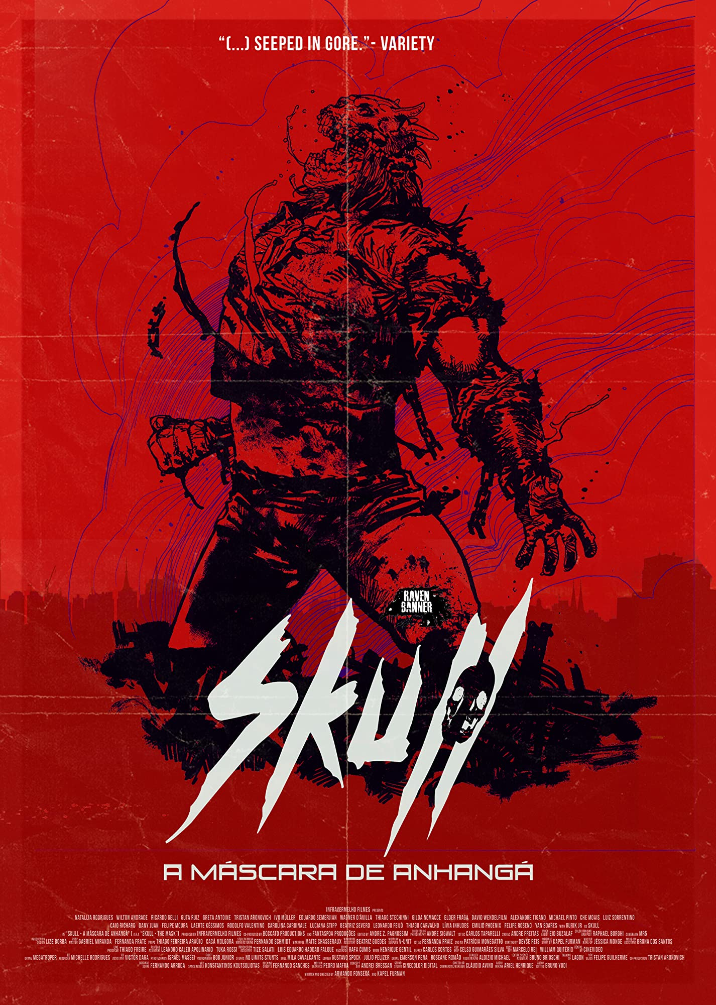 "Blutiger Trailer zum brasilianischen Slasher ""Skull: The Mask"""