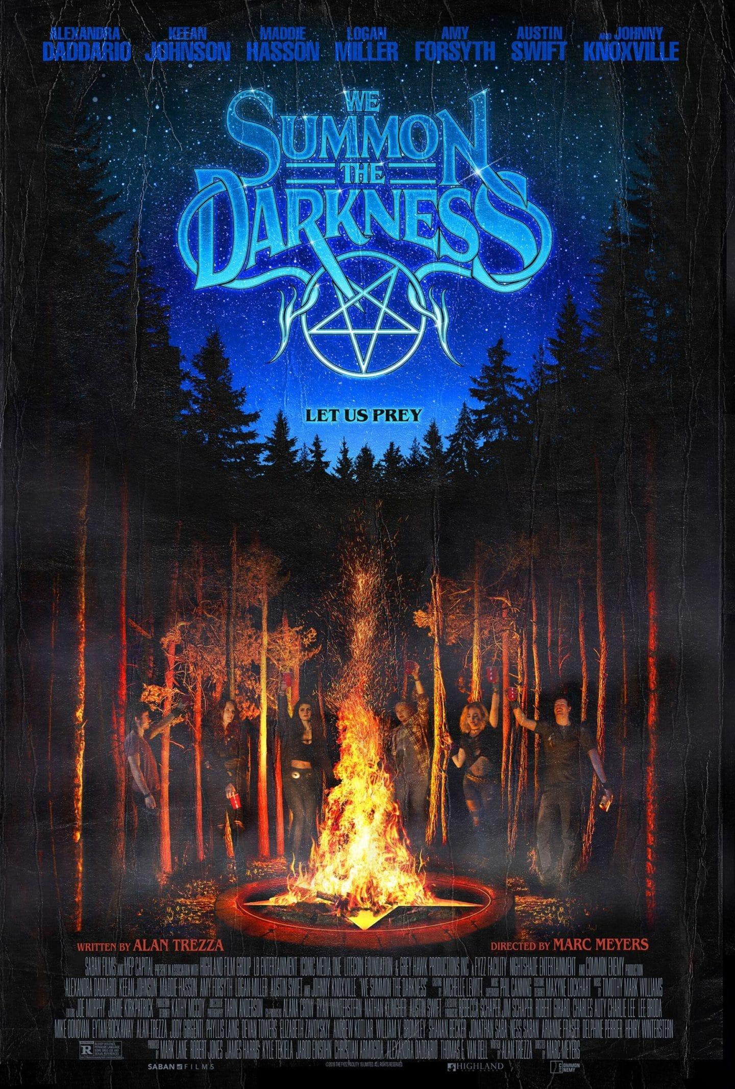 """""""We Summon the Darkness"""": Neues Poster und Clip zum Horrorthriller zeigt satanisches Ritual"""