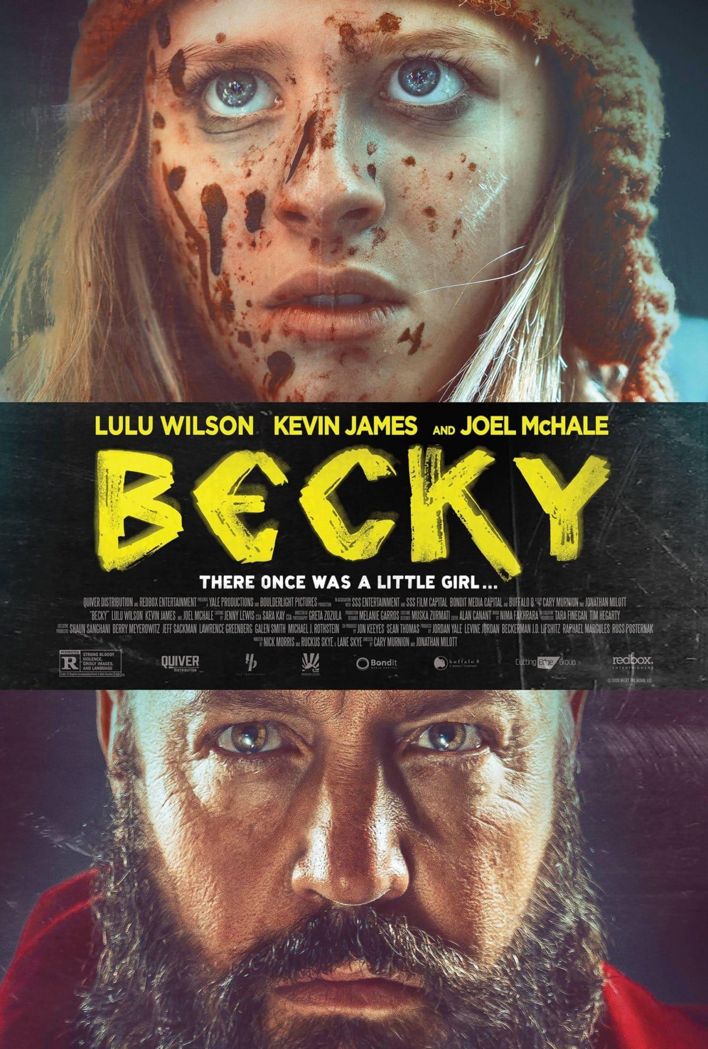 """""""Becky"""": Erstes Filmposter zeigt Lulu Wilson und Kevin James"""