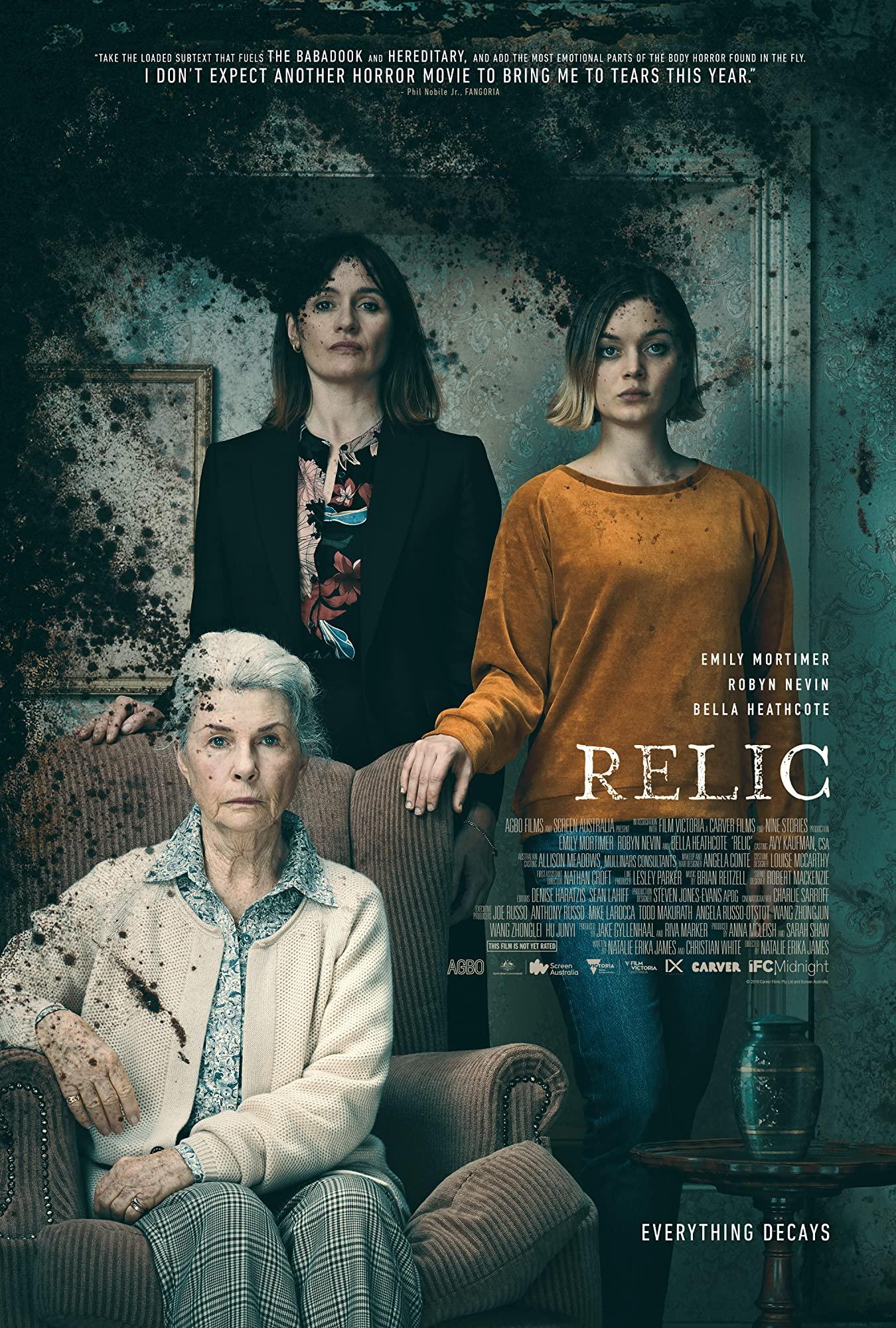 """Schauriger Trailer zum Horror-Drama """"Relic"""" mit Bella Heathcote erschienen"""