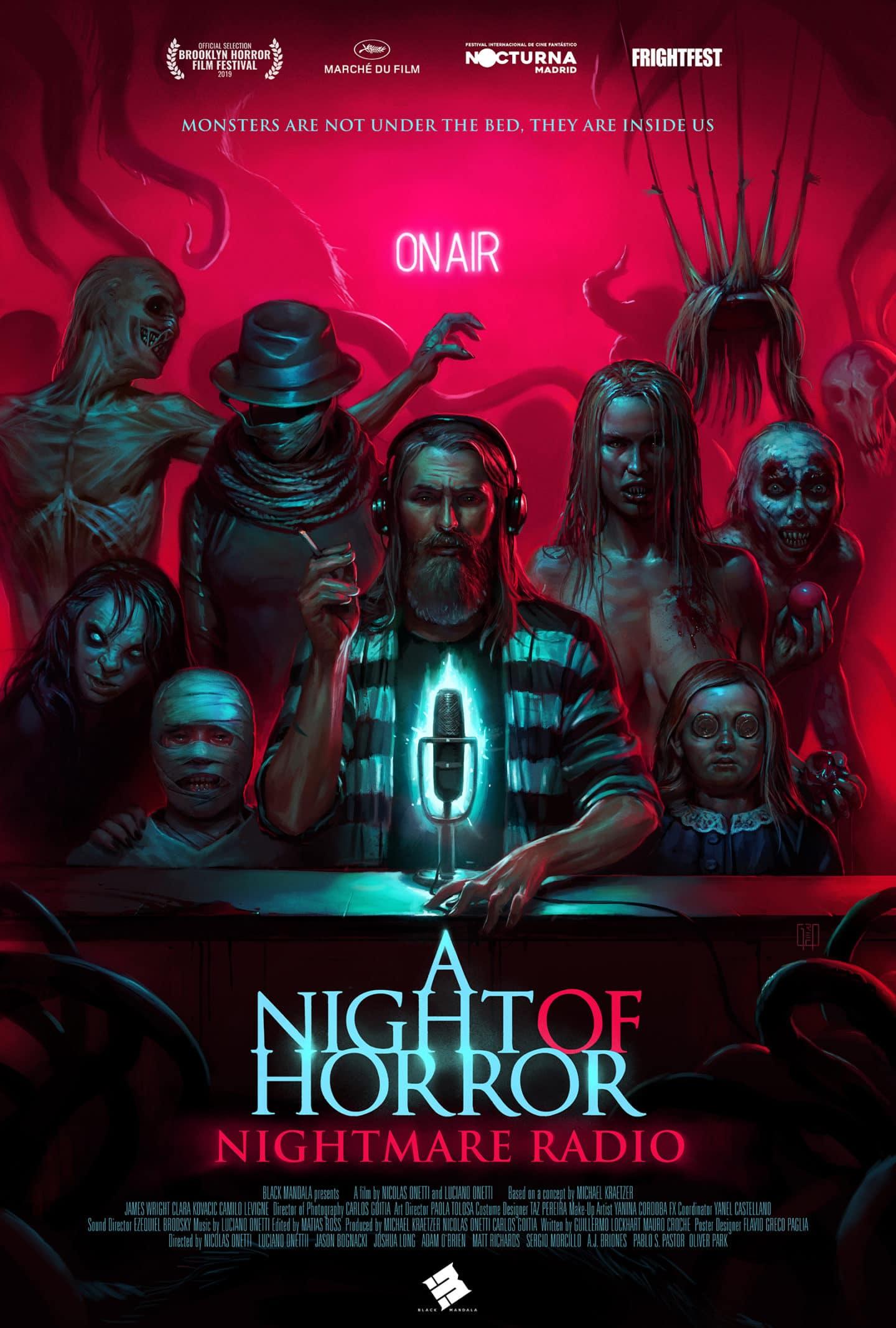 """Neuer Trailer zum Episodenfilm """"A Night of Horror: Nightmare Radio"""""""