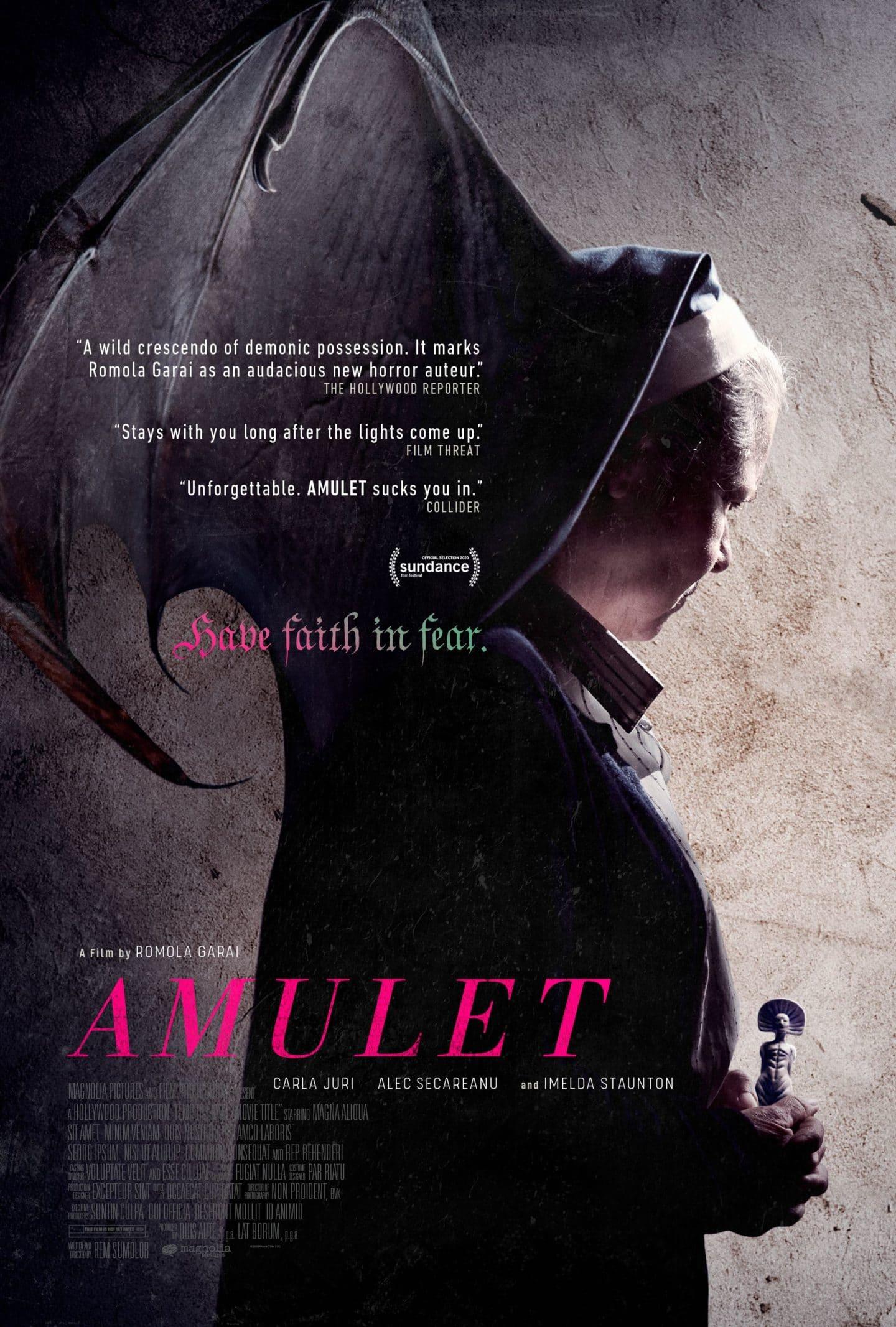 """Trailer und Poster zum heiß erwarteten Horrorfilm """"Amulet"""""""