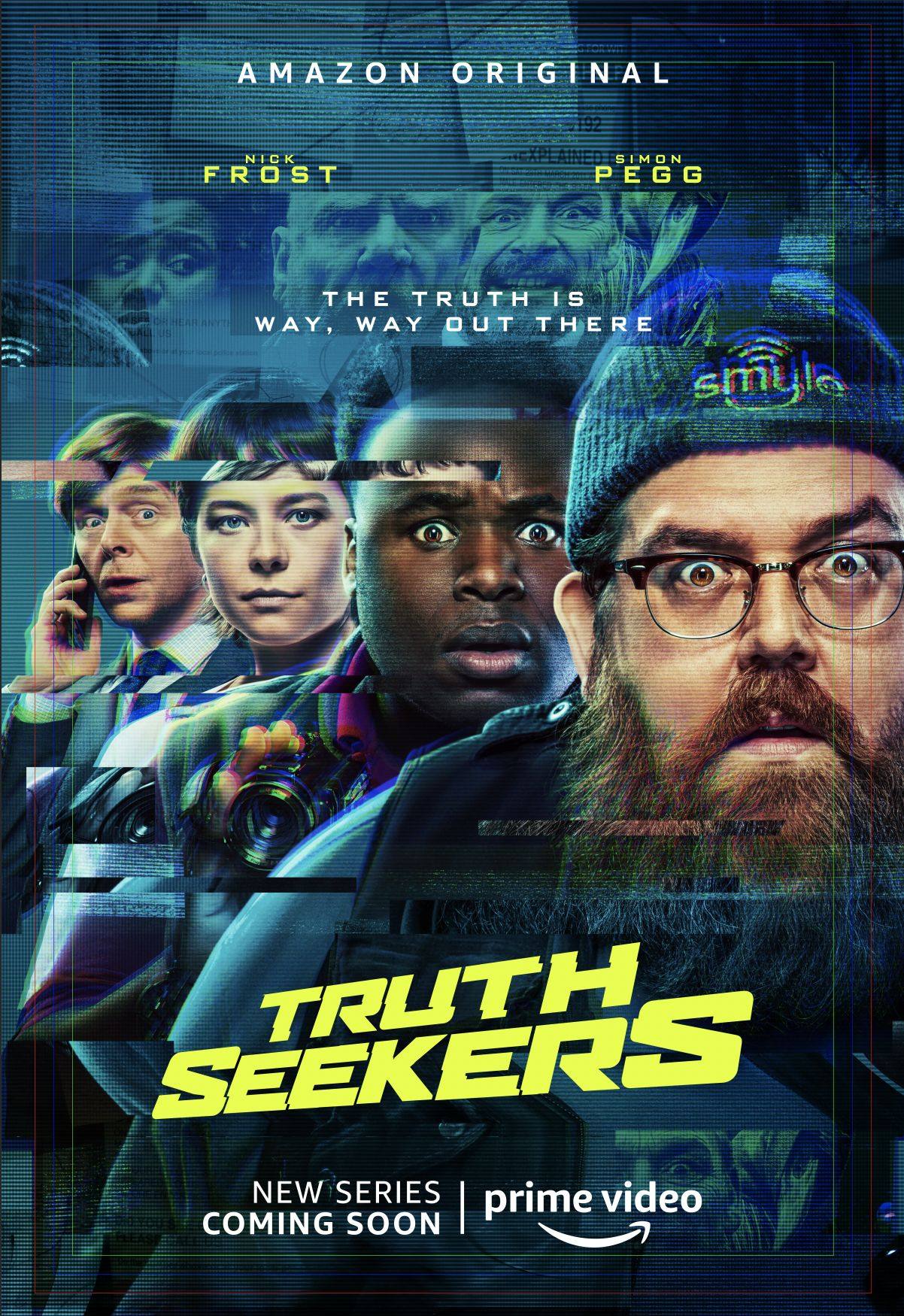 "Erster Teaser Trailer zur Simon Pegg und Nick Frost Horror-Comedy-Serie ""Truth Seekers"""