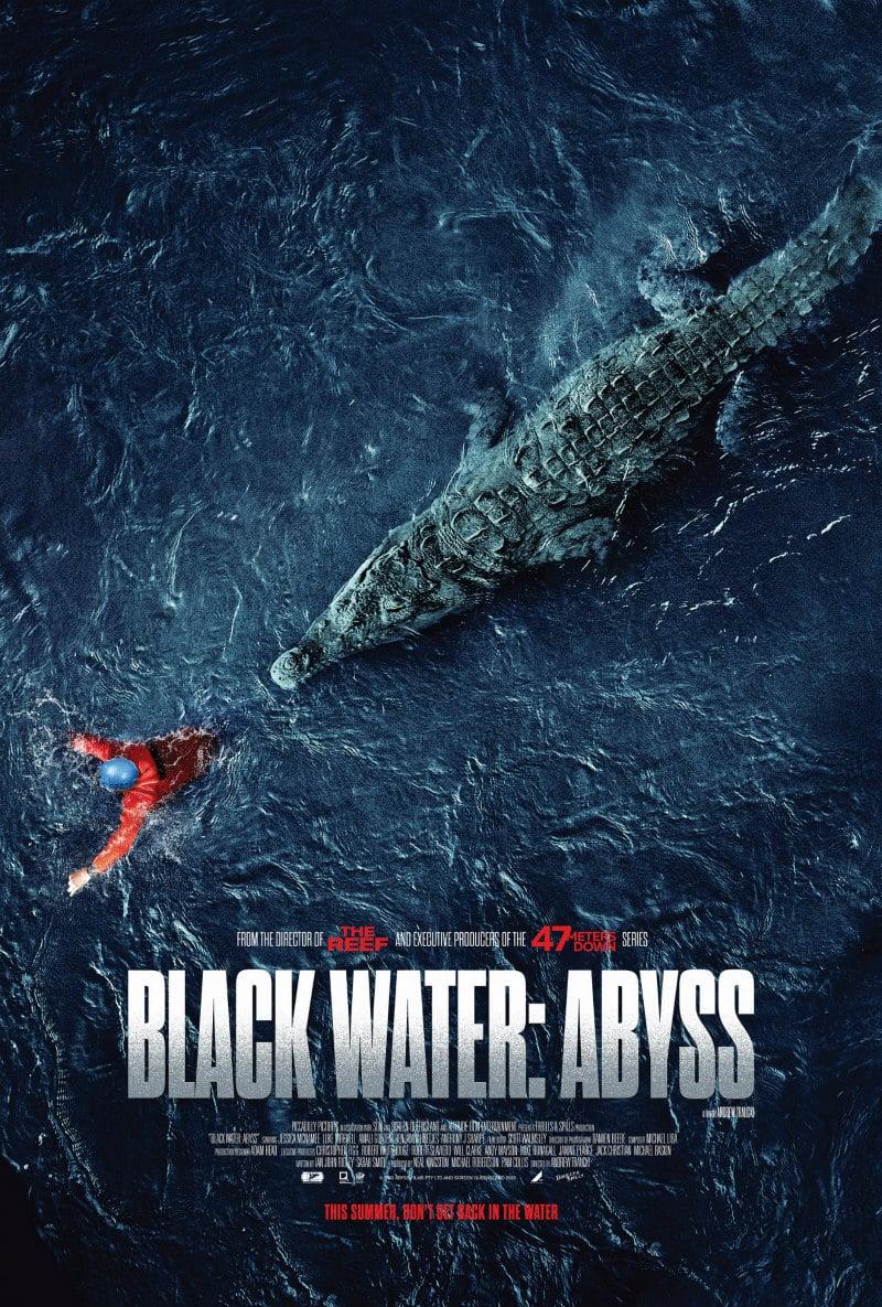 """Neues Poster zu """"Black Water: Abyss"""" eröffnet die Menschenjagd"""