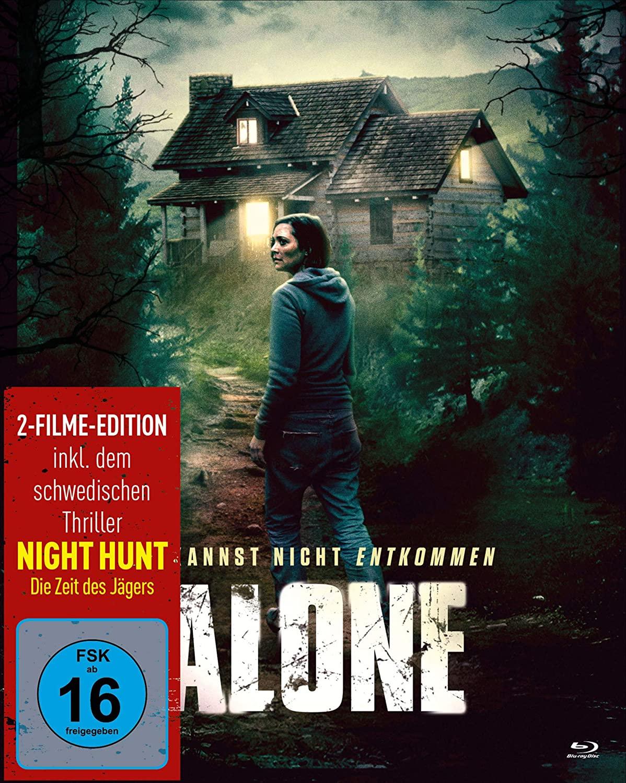 Alone – Du kannst nicht entkommen – Blu-ray Mediabook Cover