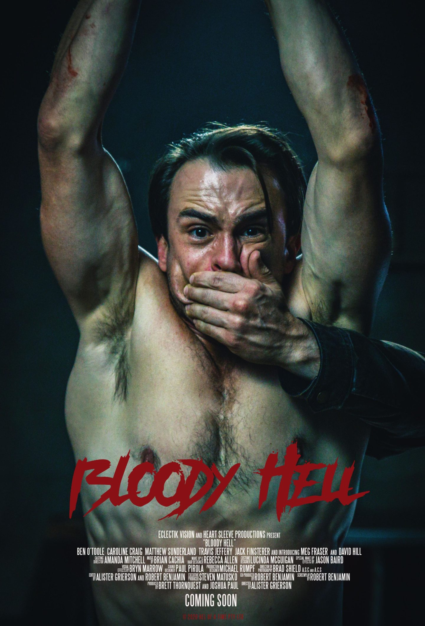 Bloody Hell – Teaser Poster