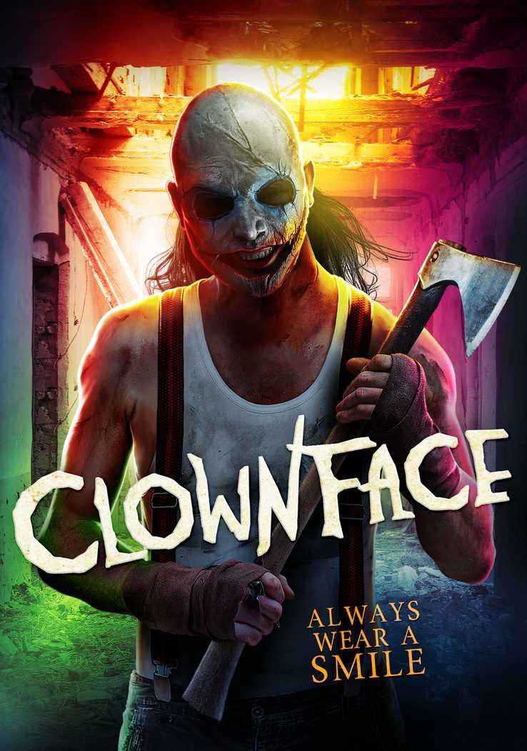 """Erster Trailer zum Indie-Slasher """"Clownface"""" zeigt die fleischige Maske"""